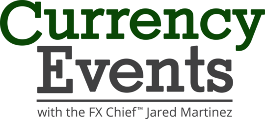 Currency Events with the FX Chief Jared Martinez